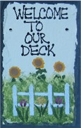 WELCOME TO OUR DECK