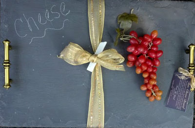 SLATE CHEESE BOARD TRAY