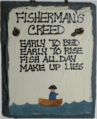 FISHERMAN'S CREED